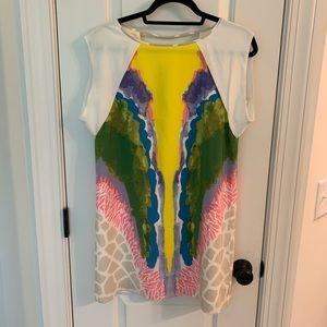 Tibi Calla Lily Shift Dress